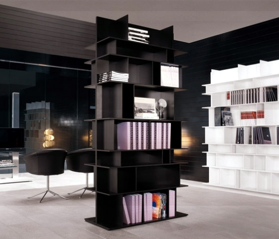 Fabulous Minimalist Furniture For Interior Home Design: 17 Minimalist Shelving System Design For Modern Living