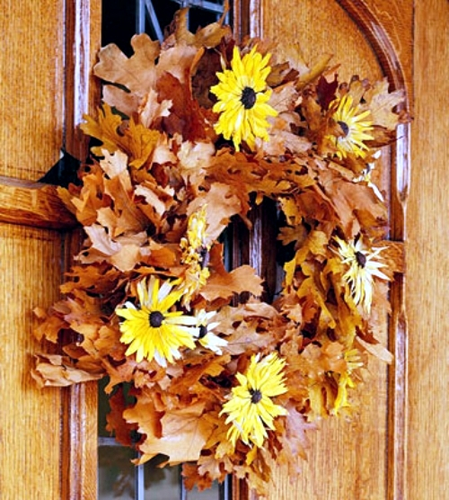 20 creative decorating ideas for door wreaths load the autumn at home
