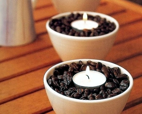 For Coffee We Selected These Interesting Ideas Making Your Own Candle Beans Are A True Original And Impressive Decoration Is Also Very