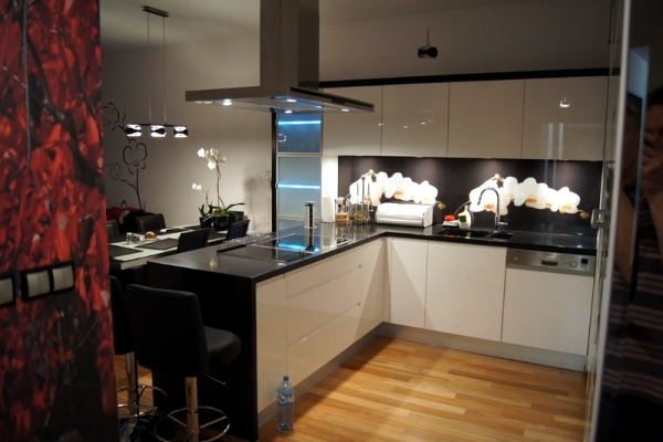 20 design ideas for kitchen glass back wall and the best types of glass