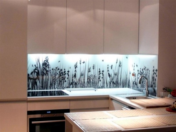 kitchen design with glass wall 20 design ideas for kitchen glass back wall and the best 771