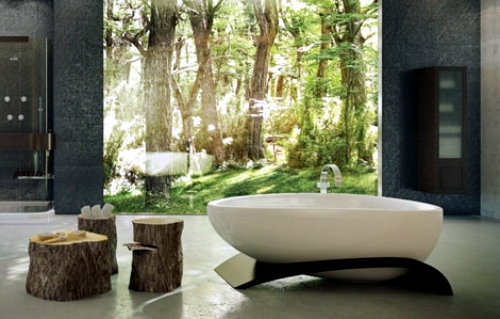 Exciting Relaxing Spa Bathroom Designs