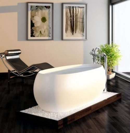 20 designer bathtubs minimalist style for the modern bathroom