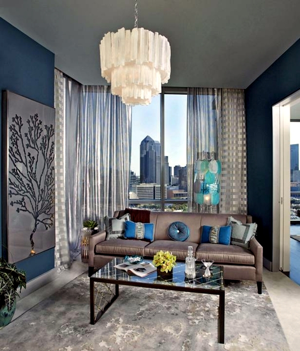 20 Eclectic Living Room Ideas Combine Colors Effectively