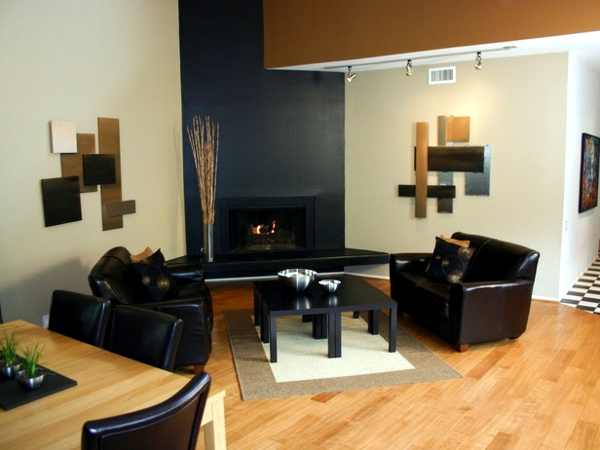 20 eclectic living room ideas - combine colors effectively