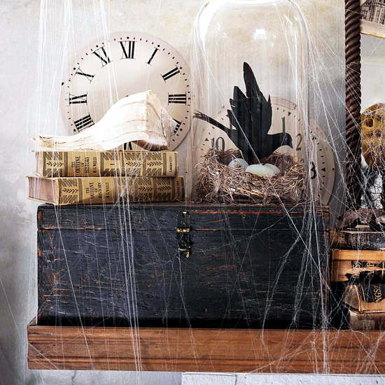 20 Decoration Ideas For The Mantelpiece Creepy