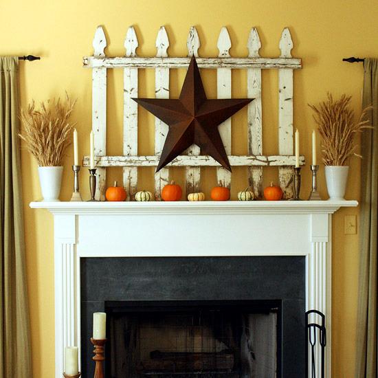 20 Halloween Decoration Ideas for the mantelpiece - Creepy eye-catcher