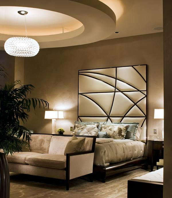 20 ideas for attractive wall design behind the bed in the