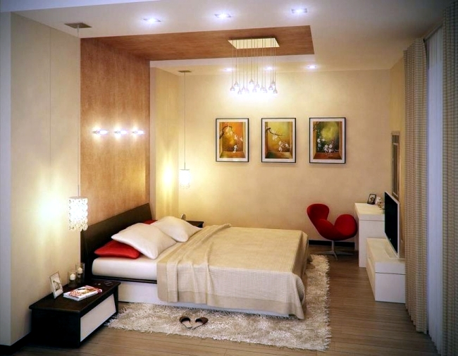Ideas For Attractive Wall Design Behind The Bed In The Bedroom - Bedroom paneling designs