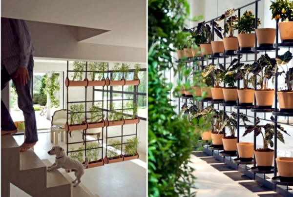 20 ideas for hanging flower pots – indoor plants exhibit creative ...