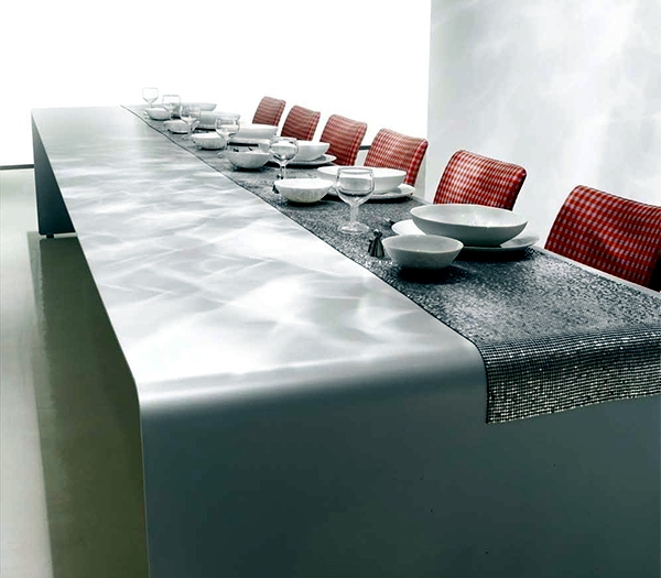 Innovative Restaurant Design Ideas : Ideas for innovative dining table designs the