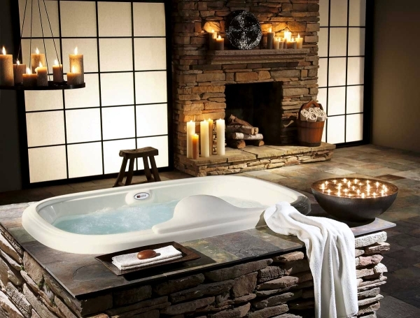 pics of rustic bathrooms. 20 Ideas For Rustic Bathroom  Furniture Made Of Wood And Natural Stone