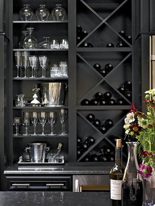 When the working day is stressful and hectic life we aspire to a quiet part of the evening with a glass of wine to relax. If you are a wine lover ... & 20 ideas for wine racks can build yourself u2013 wine storage at home ...