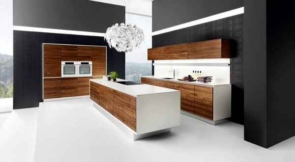20 Ideas For Wood Kitchen With Modern Design And Warm Color Interior Design Ideas Ofdesign