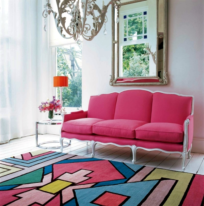 20 living ideas with carpet - so you give the room character
