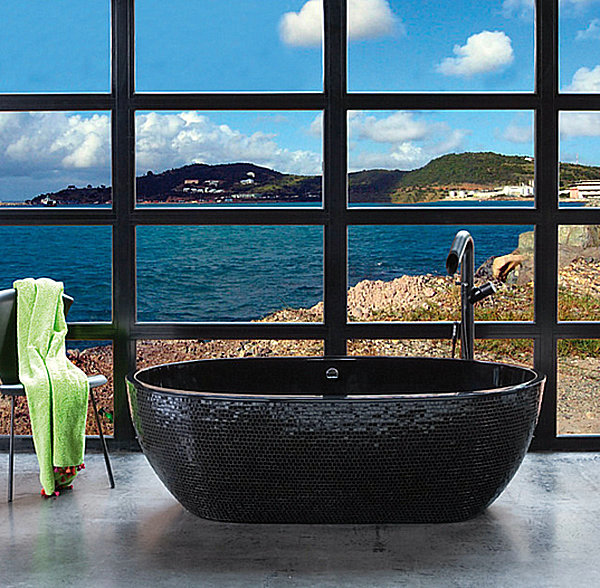 20 modern baths for a relaxing pampering experience