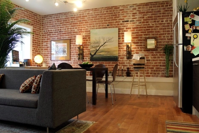 Genial 20 Stylish Ideas For Brick Wall Covering In Modern Interior