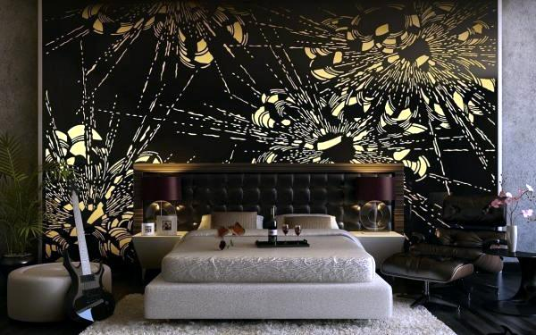 Model Of Bedroom Model - Inspirational cool wall designs In 2019