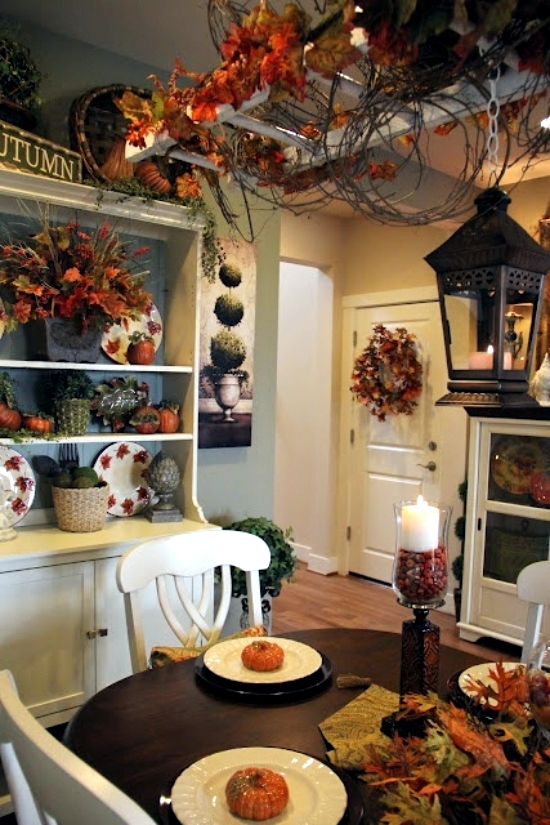 Kitchen Room Interior Design: 22 Beautiful Ideas For Fall Decorating In The Kitchen