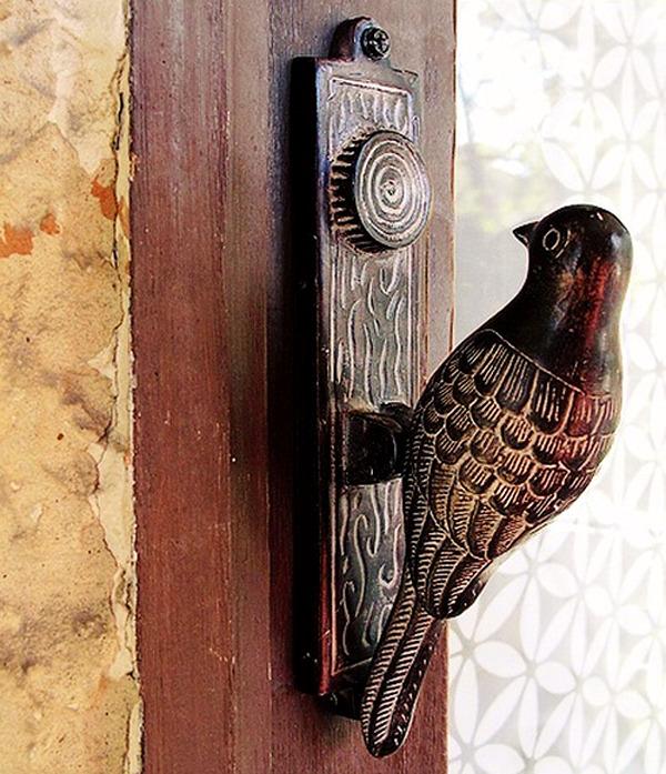 22 creative door knocker in antique look with interesting shapes