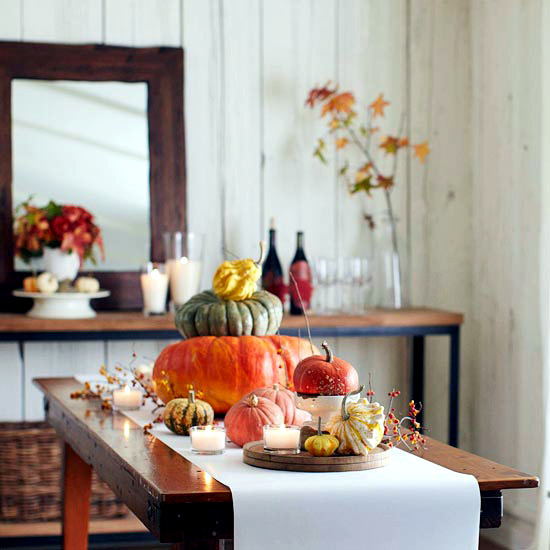 22 delightful fragrant and colorful table decoration for Modern fall table decorations