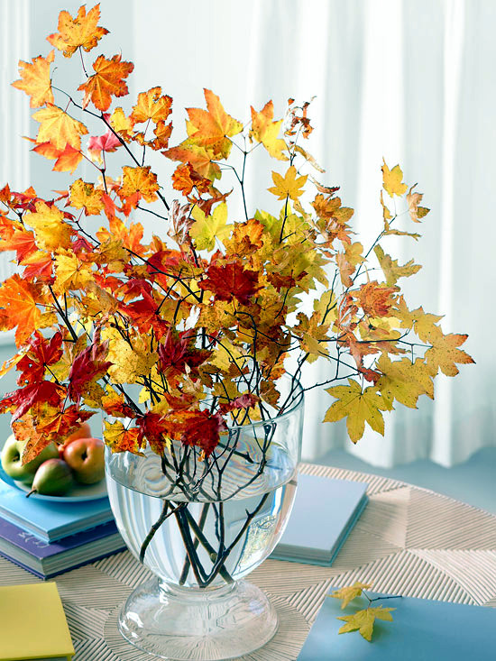 22 delightful, fragrant and colorful table decoration ideas for autumn