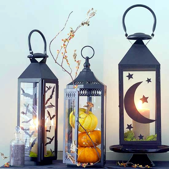 23 autumn and Halloween decoration craft ideas with pumpkins