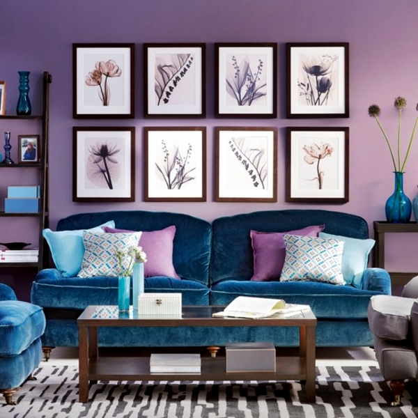 23 cozy living room interior design ideas with decoration in bright colors