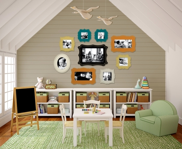 23 decorating ideas for kids room with pitched roof | Interior ...