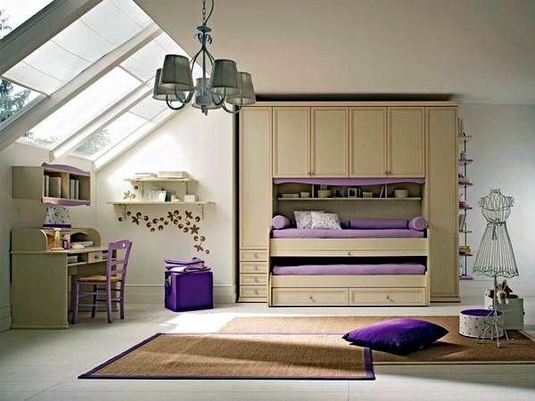 attic loft decorating ideas - 23 decorating ideas for kids room with pitched roof