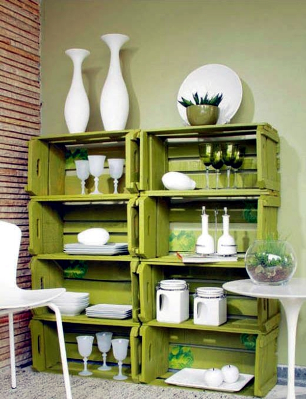 25 cool recycling making ideas from old furniture and for Recycling furniture decorating ideas
