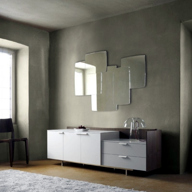 25 Design wall mirror in all forms and for all decorating styles