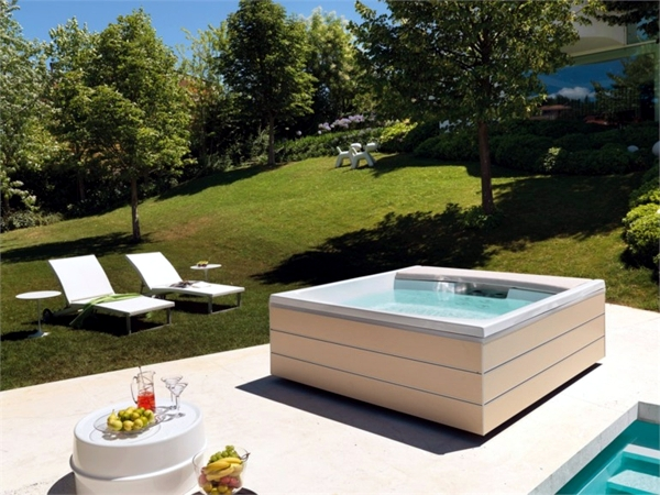 Exceptional 25 Designs For Indoor And Outdoor Jacuzzi Provide Spa Experience Ever