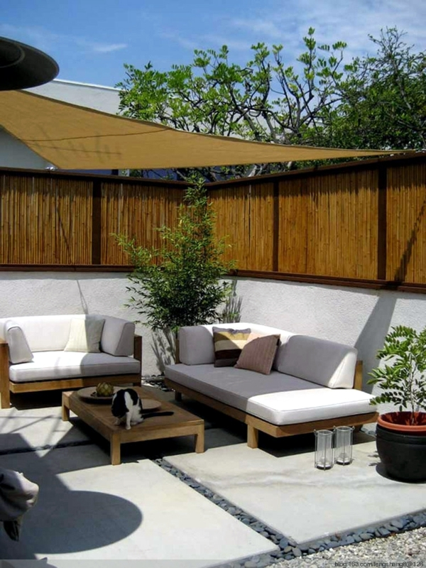 25 ideas for sun protection in the garden pergola, awning or canopy