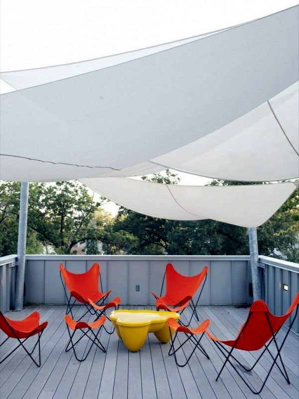 25 Ideas For Sun Protection In The Garden Pergola Awning