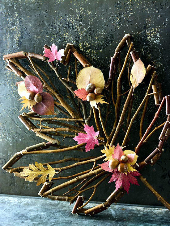 26 Autumn decorations for the home - ideas with precious natural resources