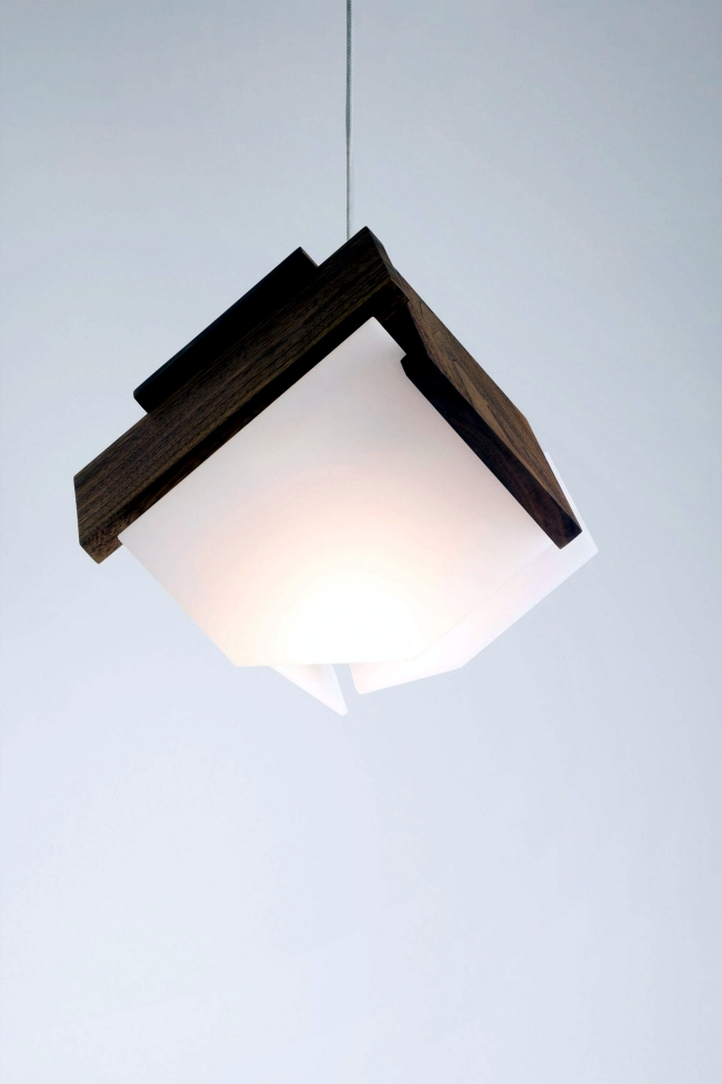 3 Ideas for modern designer lighting with wooden elements of Cerno