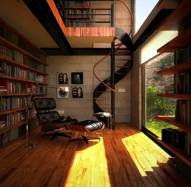 Cool 30 Creative Ideas How To Make The Library At Home Interior Largest Home Design Picture Inspirations Pitcheantrous