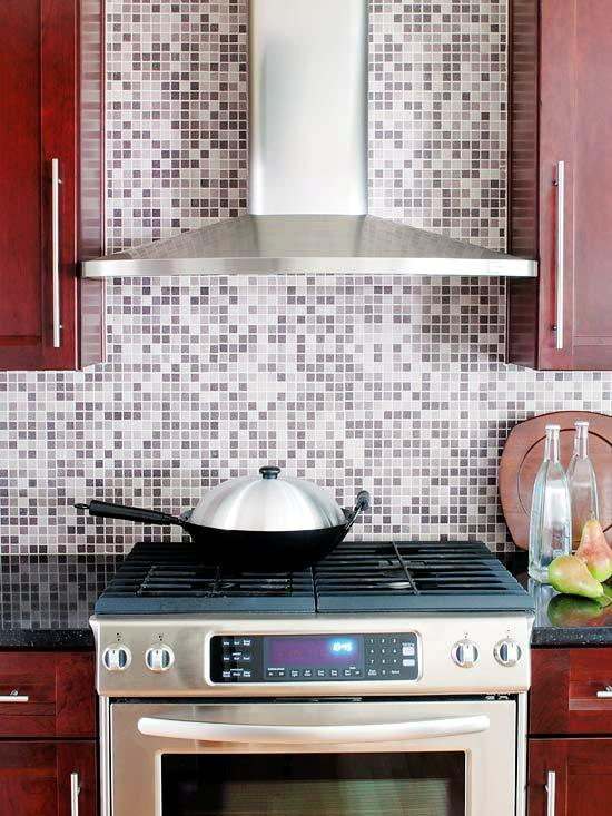 Gray Backsplash decoración