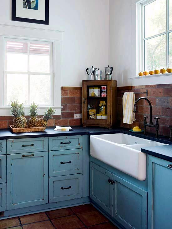 30 ideas for kitchen design back wall tiles, glass or stone