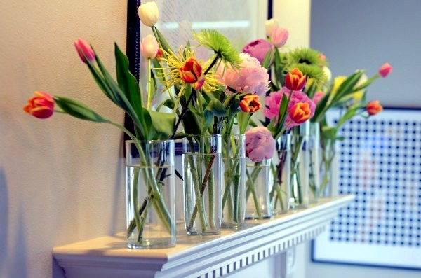 30 spring like floral arrangements and decoration ideas for Floral decorations for home