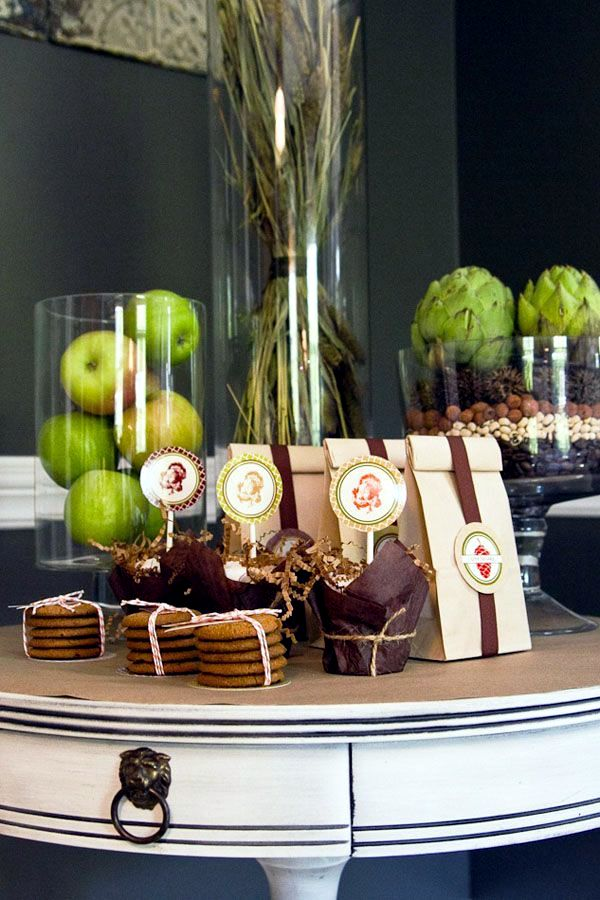 31 Fall decorating ideas for a party - table decoration and effective accents