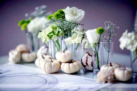 33 Autumn decoration ideas elegant in white for a stylish interior