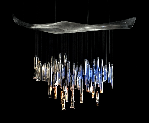 33 designer chandeliers made of metal - kings under the lights
