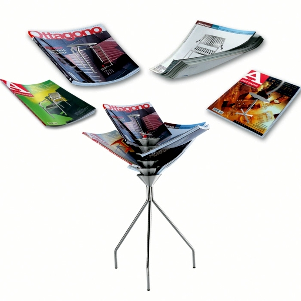 33 Stylish Designer newspaper holder and magazine rack