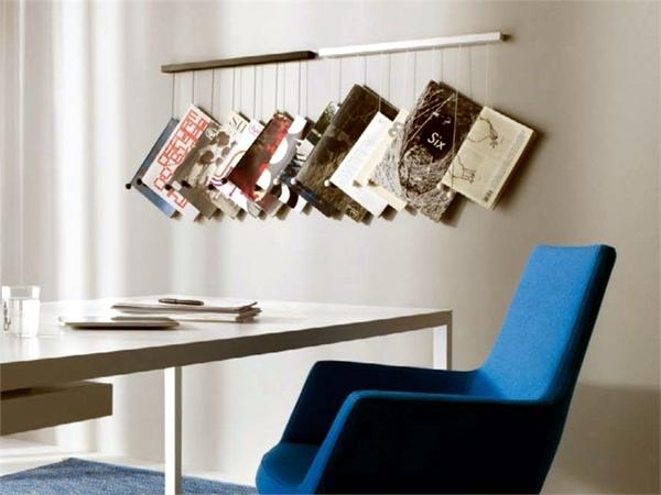 33 Stylish Designer newspaper holder and magazine rack