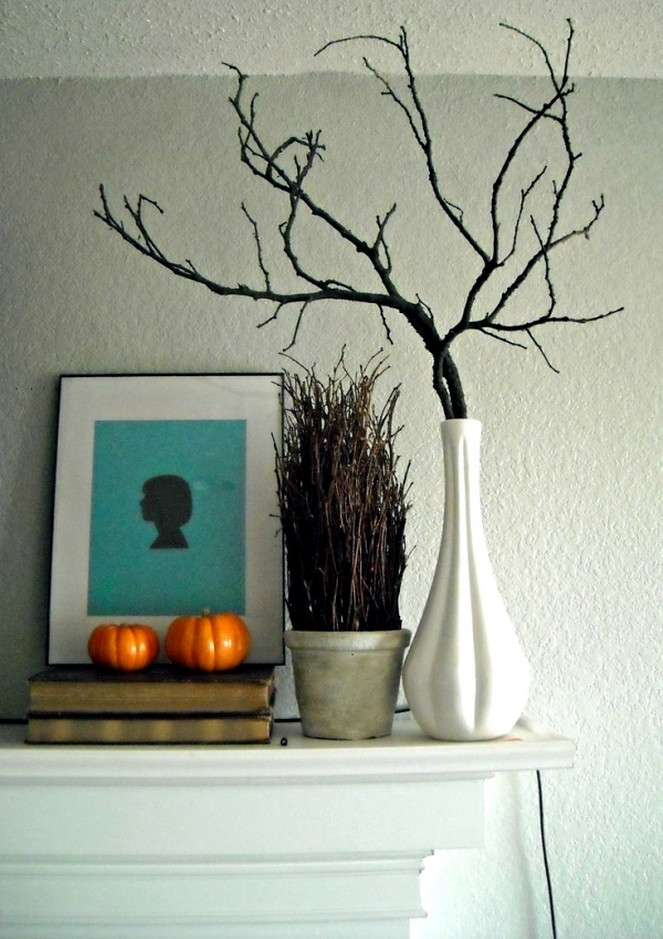 34 Sexy Ideas For Autumn Decoration With Twigs Branches