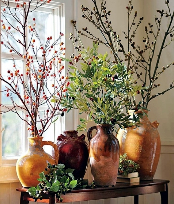34 Y Ideas For Autumn Decoration With Twigs Branches And Leaves