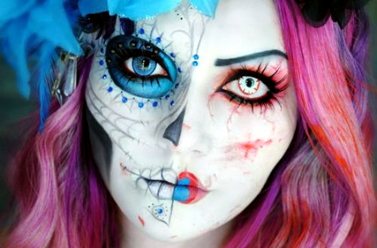 Halloween Make Up Men.35 Halloween Make Up Ideas For Men And Women From The Past