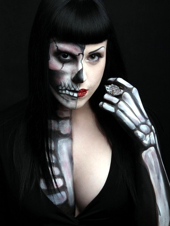 35 Halloween make-up ideas for men and women from the past 2015 ...